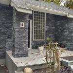 Glacial Black Marble Ledger Stone Panels