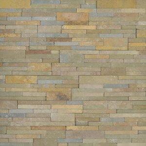 Sedona Vanilla Stacked Stone Panel
