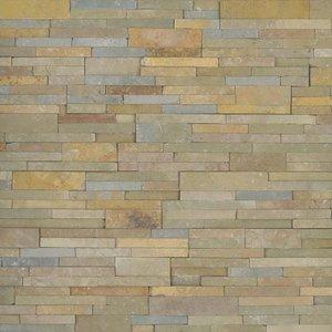 Sedona Vanilla Stacked Stone Panel