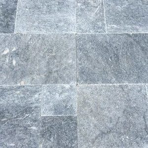 King BlueStone Marble Pavers French Pattern Tumbled