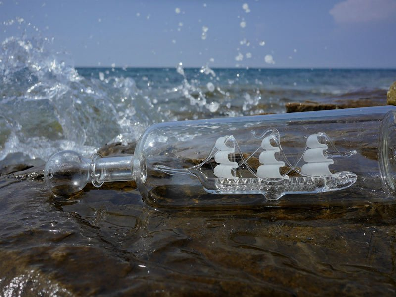 Imago ailing Relationships Unhealthy connection ship bottle
