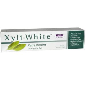 NOW Foods Xylawhite Toothpaste Gel