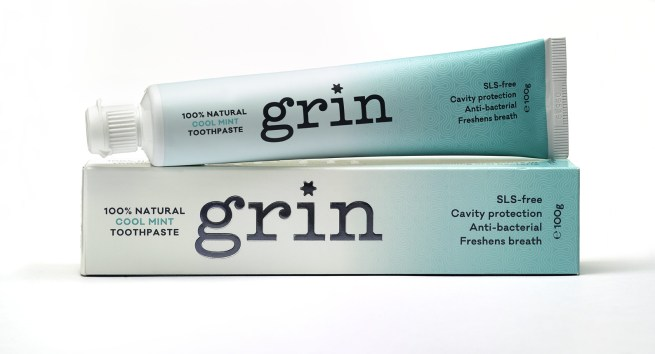 Grin Natural Toothpaste