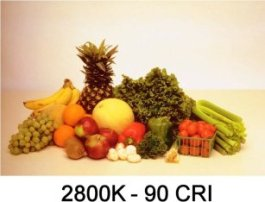 2800K - 90 CRI LED