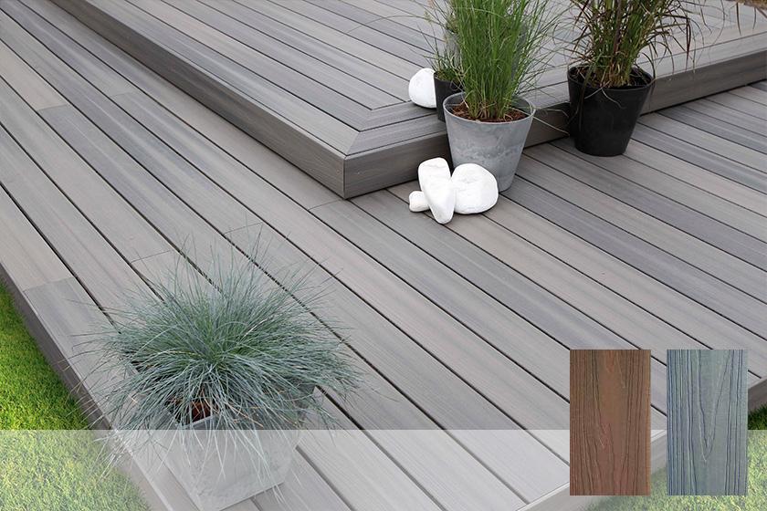 terrasse en bois composite fiberdeck xtrem