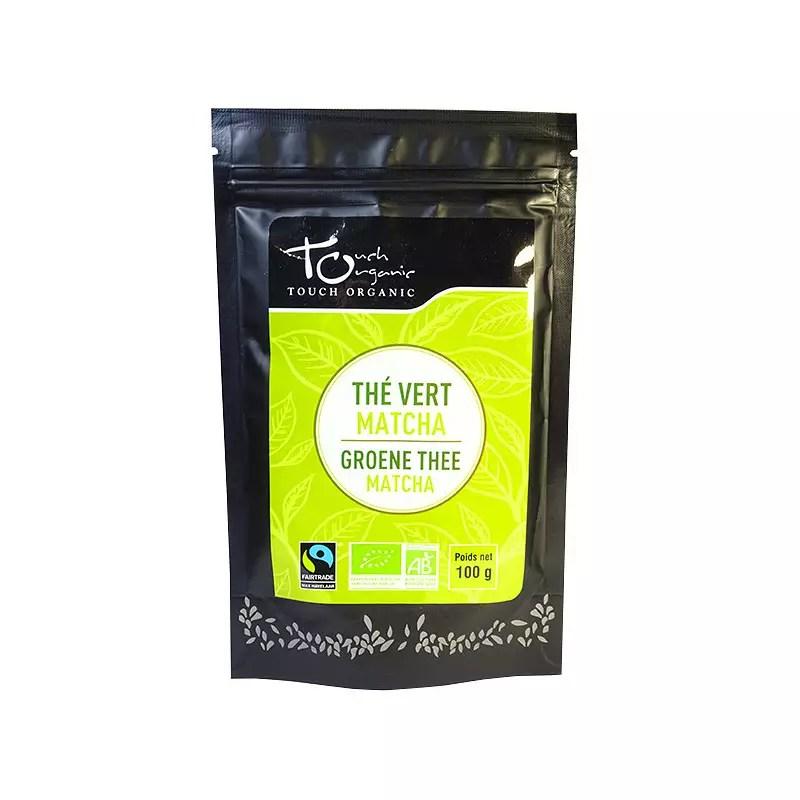 the vert matcha bio vrac 100 gr touch organic achat touch organic