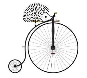 Herisson FNE à vélo