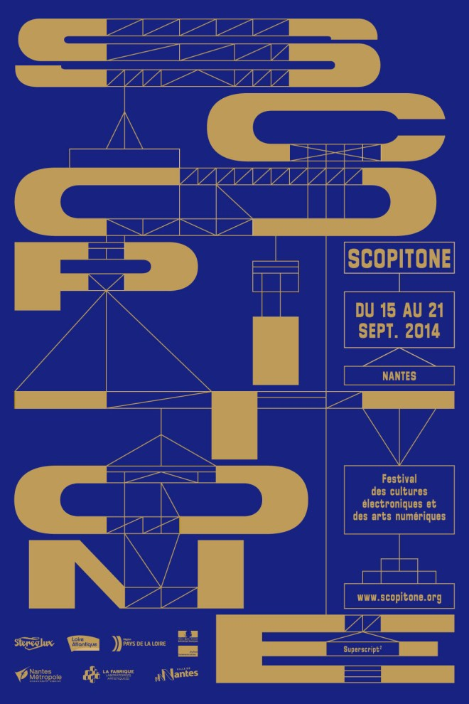 Mapping et Scénographie – Scopitone 2013