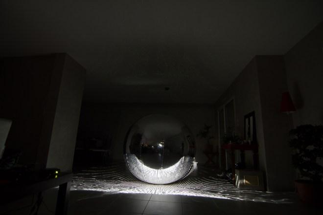 Projection sur sphere