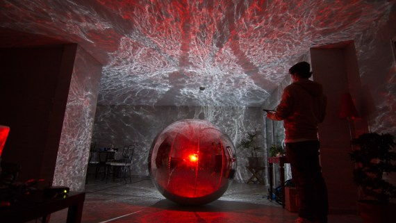 Projection sur sphere