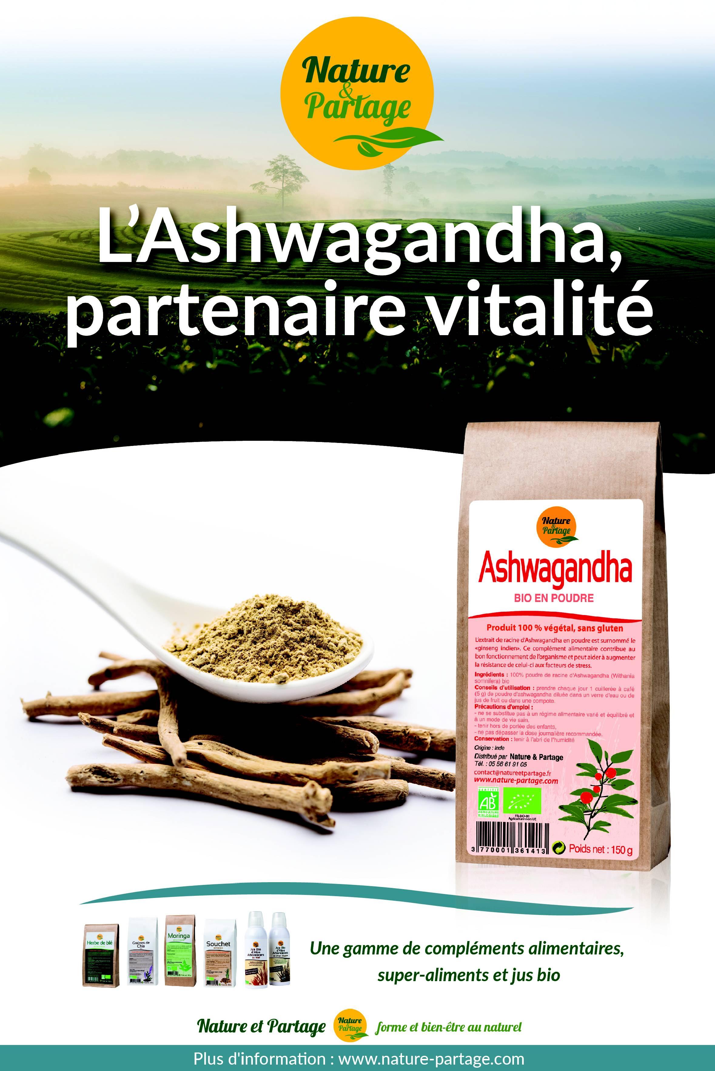 affiche ashwagandha