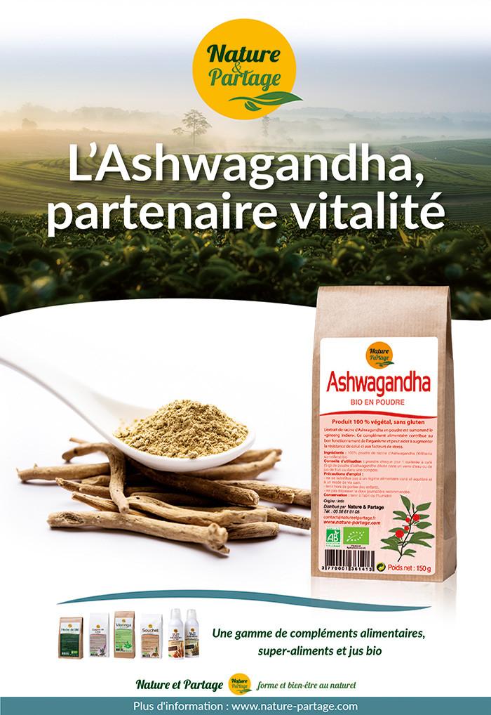 Ashwagandha nature et partage