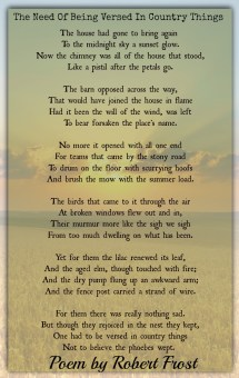 Famous Robert Frost Poems 1