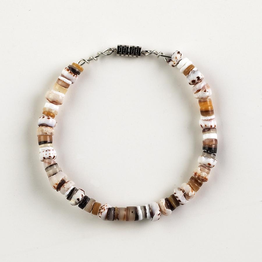 seashell bracelet making activity