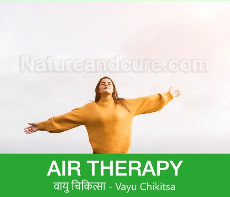 Air Therapy - वायु चिकित्सा - Vayu Chikitsa