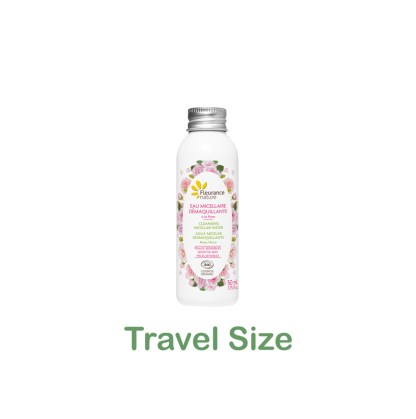 Organic Rose Micellar Water Travel Size by Fleurance Nature