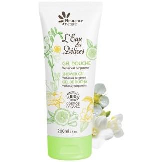 Organic Verbana Bergamot Shower Gel by Fleurance Nature