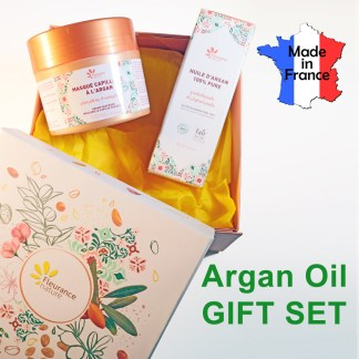 Organic Argan Oil Hair Mask Gift Set
