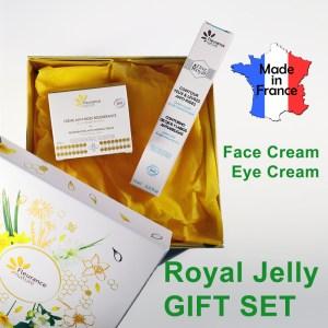 Gift Box Organic Royal Jelly Face Eye Cream