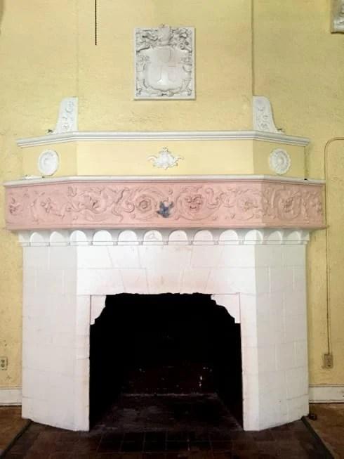 hacienda fireplace