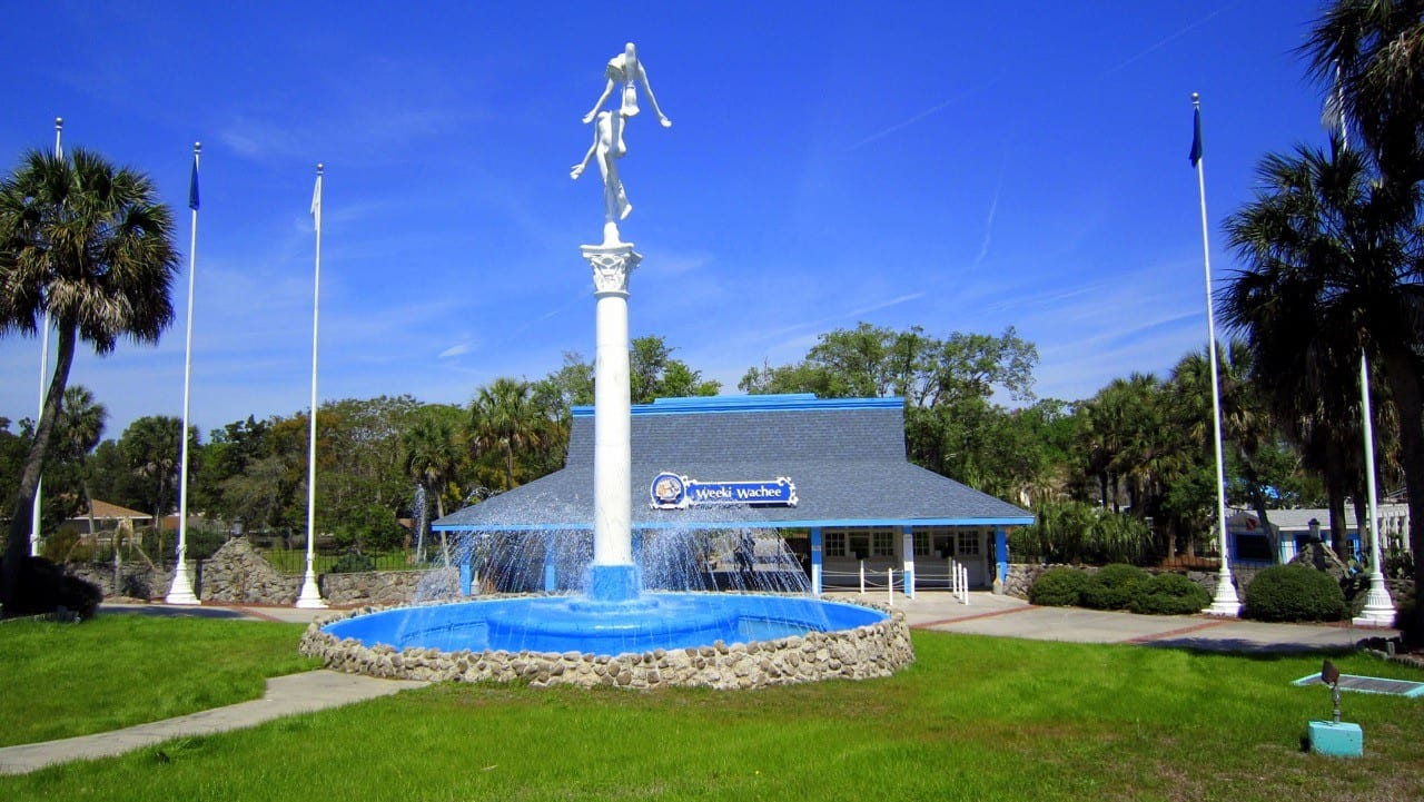 Weeki Wachee Springs State Park front entrance