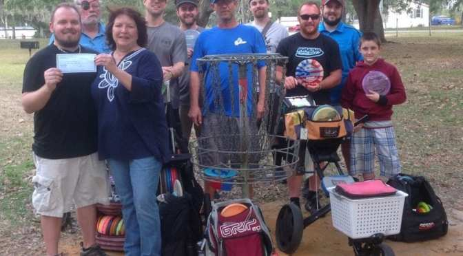 Disc Golf Club surpasses donation expectations for Citrus United Basket
