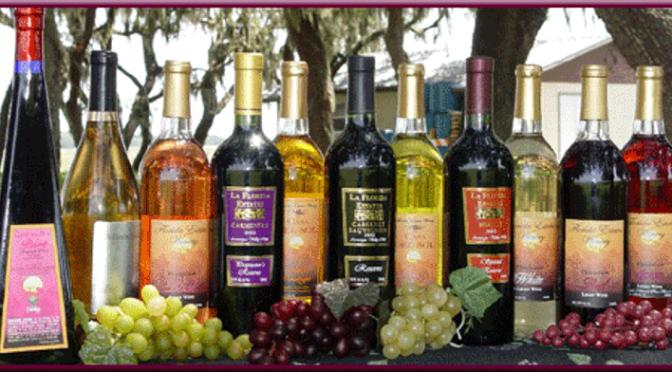 Florida Estates Winery offers Wine Class June 25