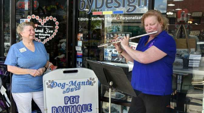 First Friday Brings Music to the Streets of Dade City