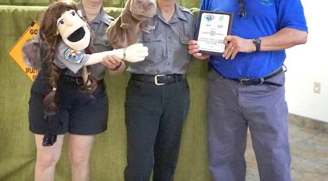Wildlife Puppeteers receive Long Term Project Award