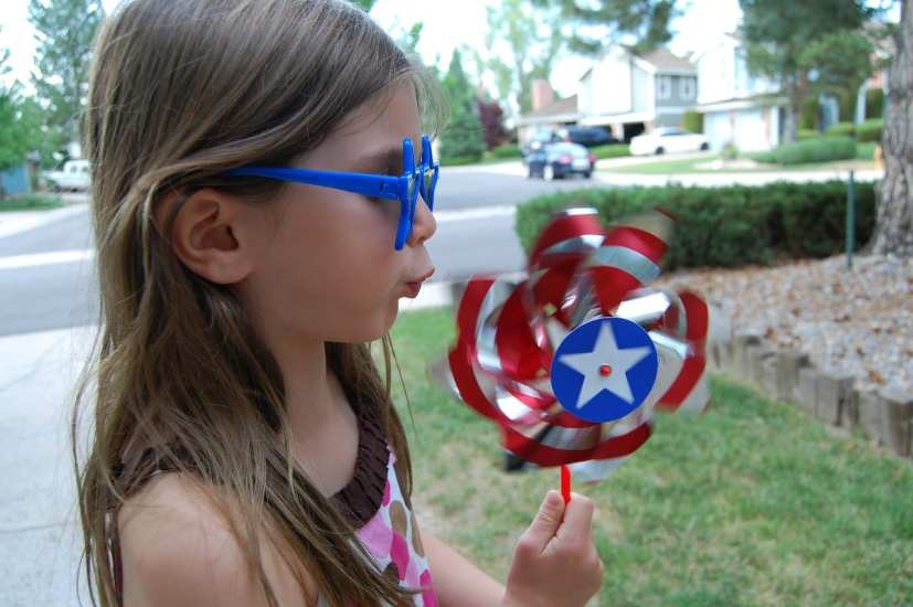 4th of july pinwheel