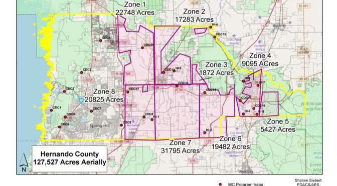 Aerial Spraying for Mosquitoes Completed Oct. 1