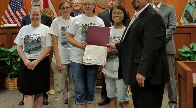 BOCC Proclaims September 16 – 23 as Save Our Waters Week in Citrus County