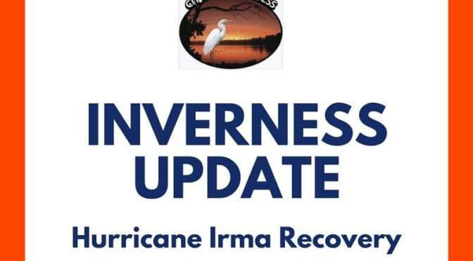 Update on Inverness City Services Post Hurricane Irma
