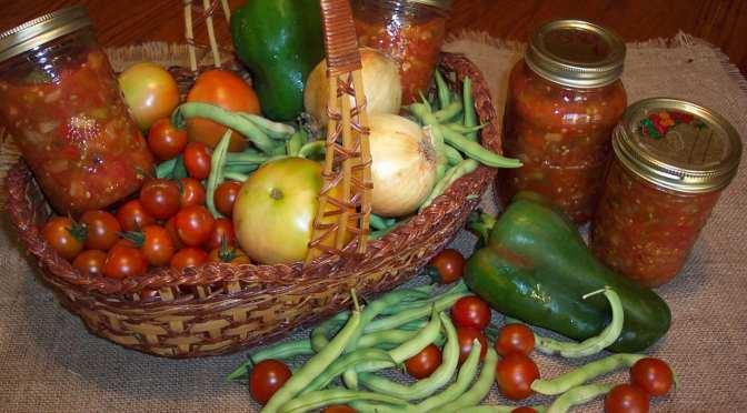 Sign up for Salsa Canning Workshop Nov. 4