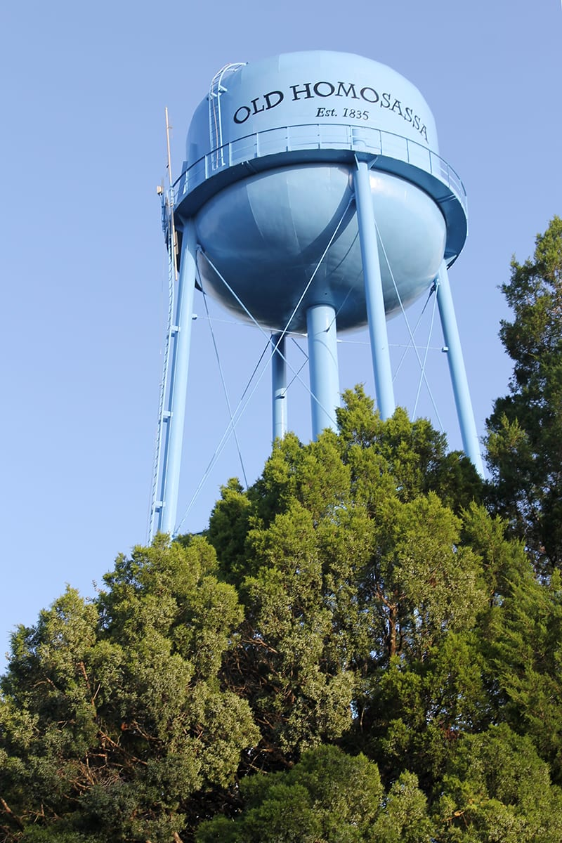 Old Homosassa Water Tower