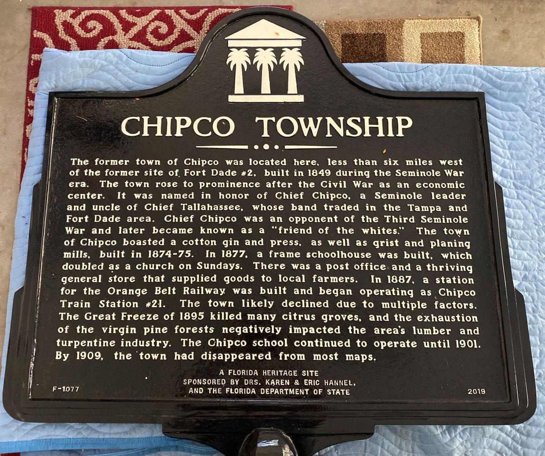 chipco historic marker