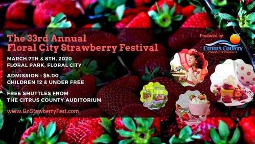 floral city strawberry festival 2020