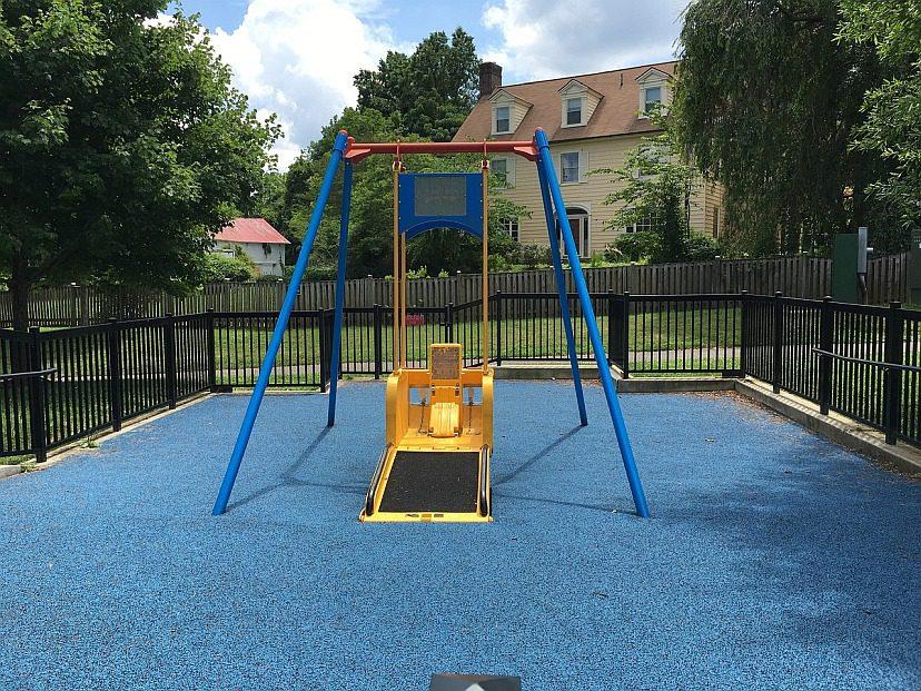 wheelchair friendly swing