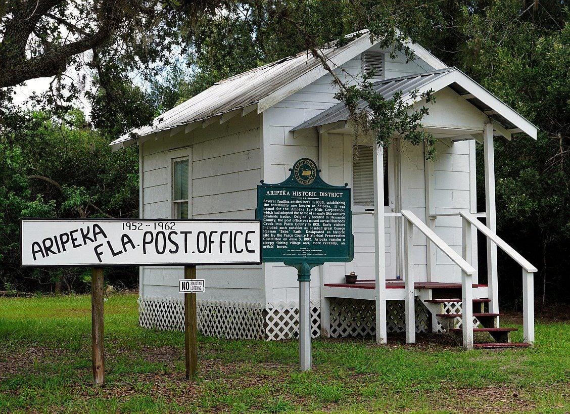 Aripeka post office