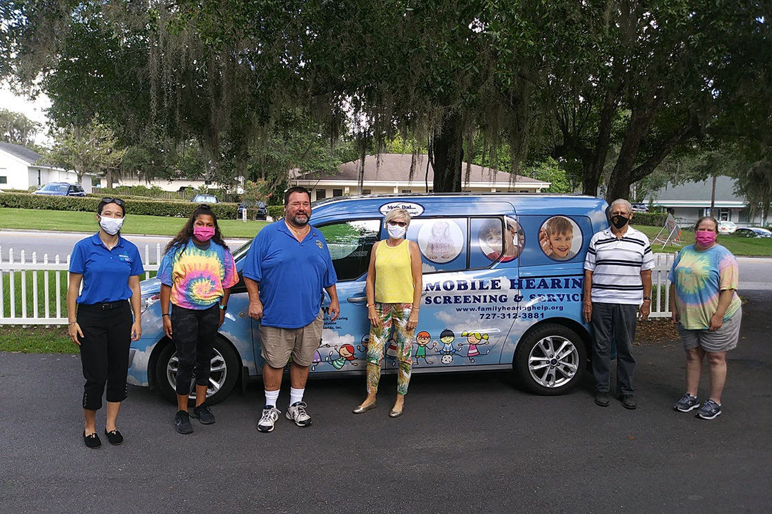 Sertoma Foundation Mobile Audiology Van Visits Playcare Early Learning Center