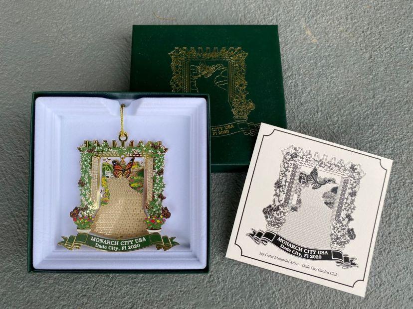 Garden Club Monarch ornament