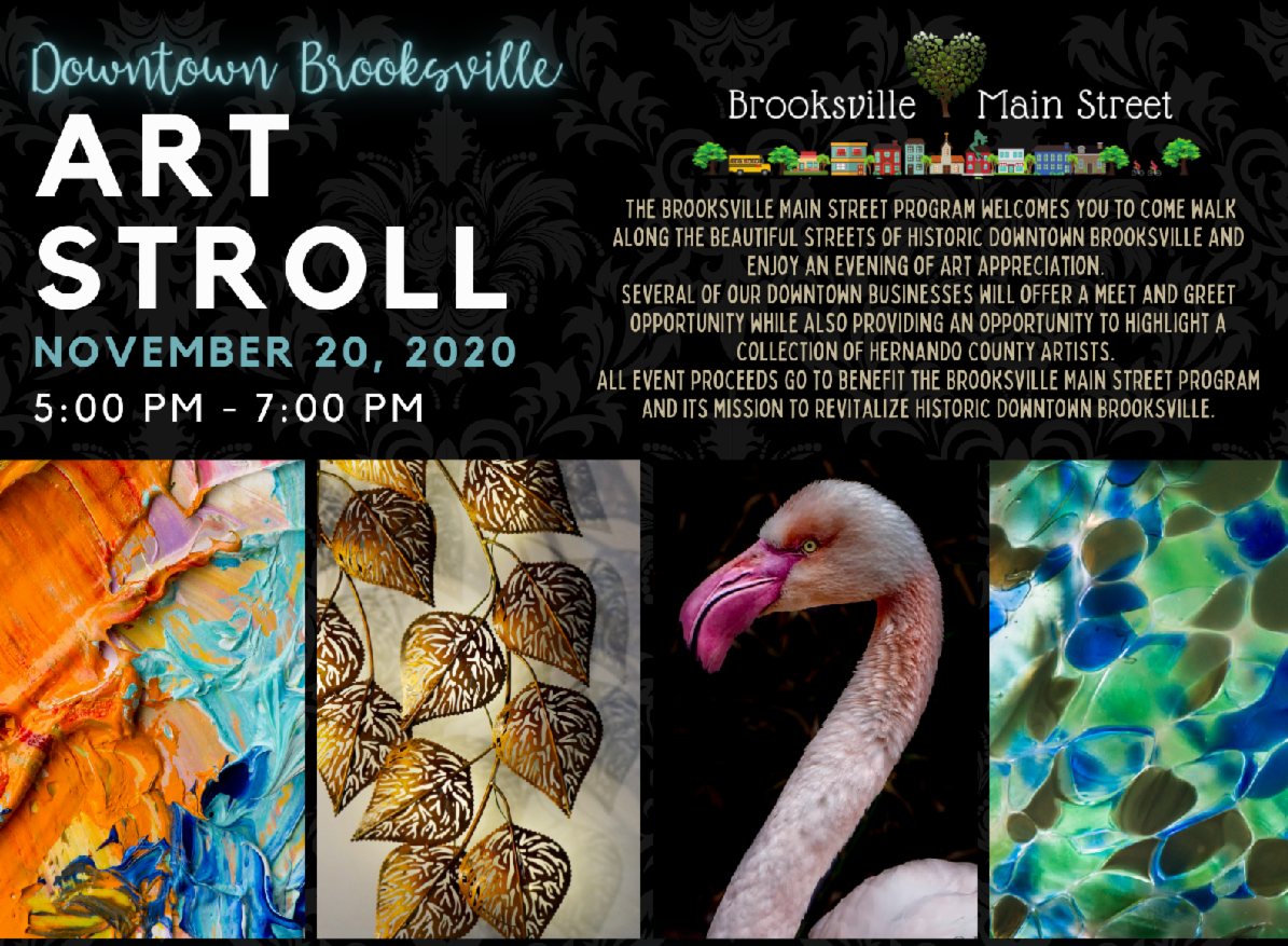 brooksville art stroll