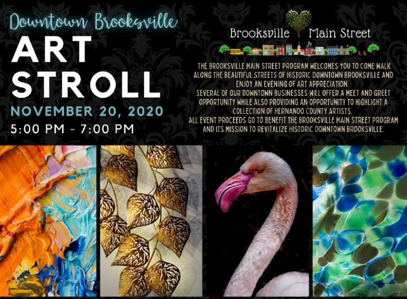 brooksville art stroll