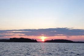 Sunset on Mahone Bay, NS (Photo by MICA)