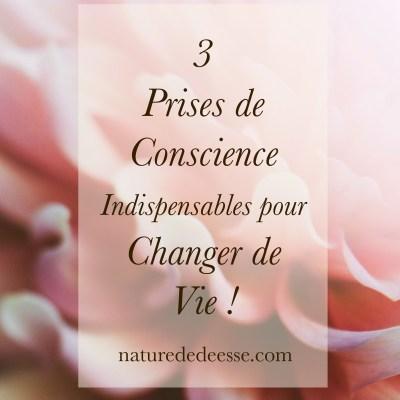 3 Prises de Conscience pour Changer de Vie !