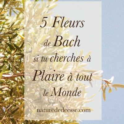 5 Fleurs de Bach pour Arrêter de Vouloir Plaire à Tout le Monde