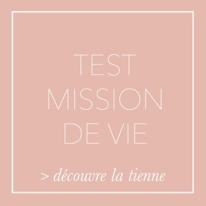 Test quelle est ta mission de vie - Nature de déesse