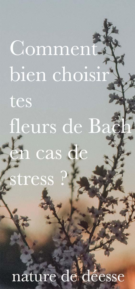 Comment bien choisir tes fleurs de Bach en cas de stress ? - Podcast Nature de déesse