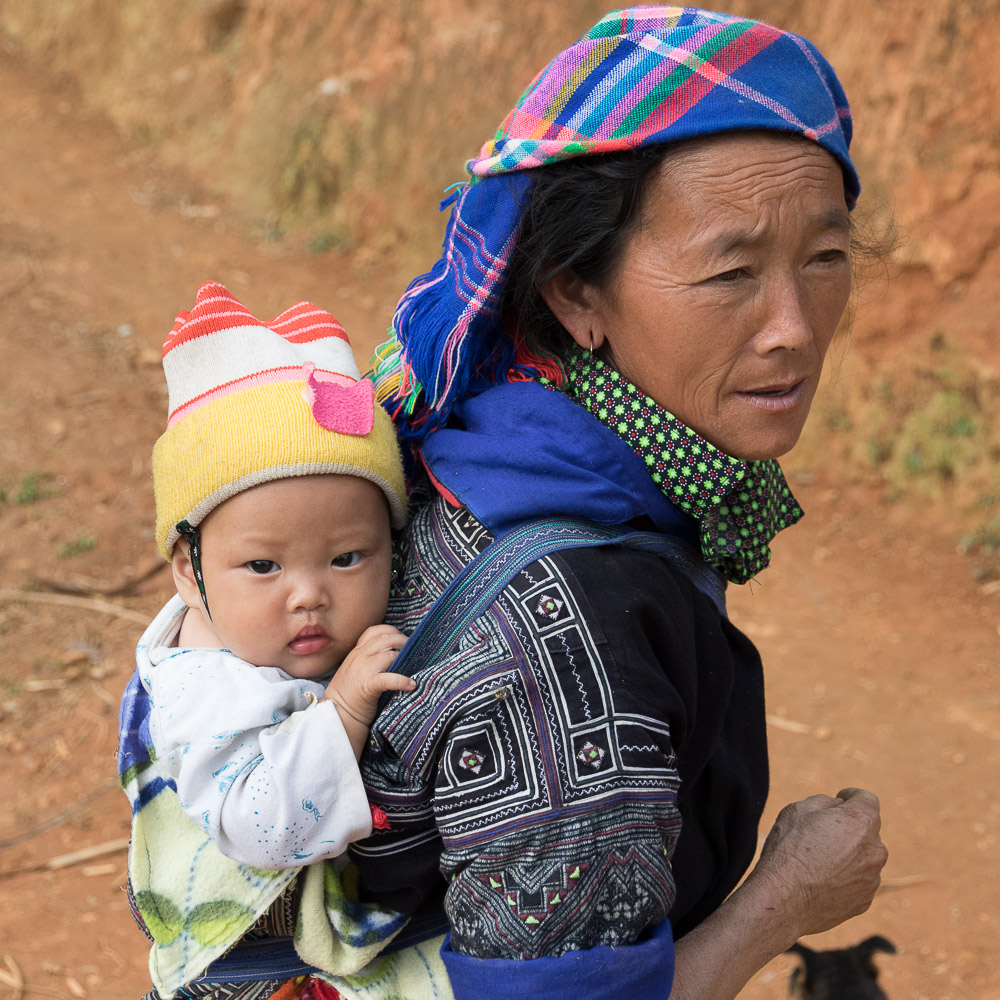 Nord Vietnam Ethnie Mong