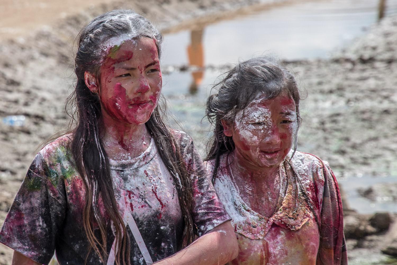 Laos Luang Prabang. Fête de Pi Mai